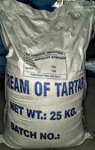 Potassium Bitartrate