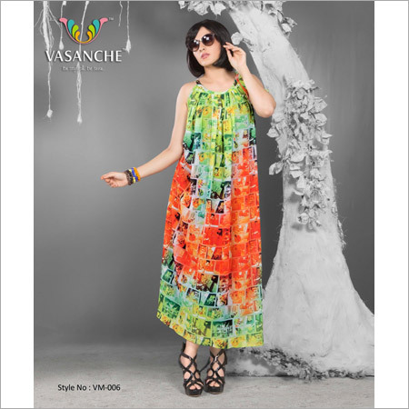 Women Designer Maxi Dress