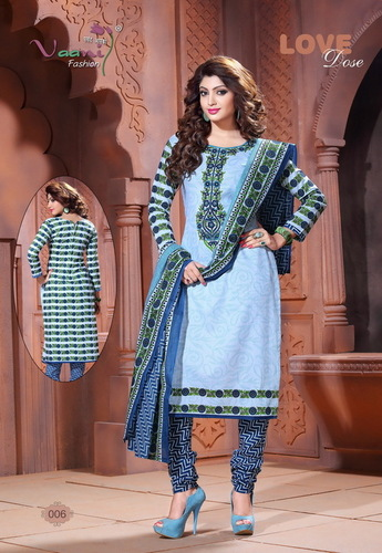 Pure Cotton Ladies Salwar Suits