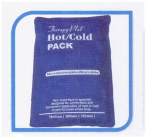 """Therapy plusTM hot / cold pack (11"""" x 7.2"""") with towel cover"""