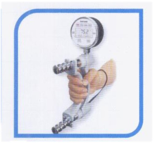 Saehan digital hand dynamometer with software DHD -3