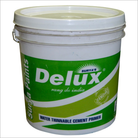 Water Thinable Cement Primer