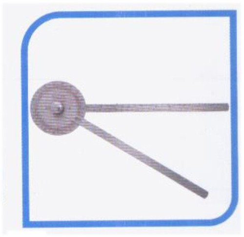 Therapy plusTM goniometer 360* stainless steel