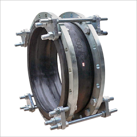 Rubber Expansion Joint with MS Flange