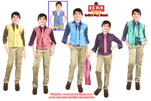Boys Waist Coat suit