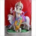 krishna gopal with cow