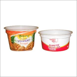Yogurt Cup Shrink Label