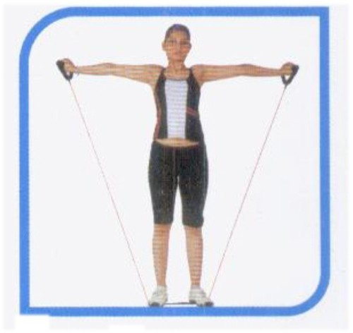EXERCISE TUBING WITH HANDLES