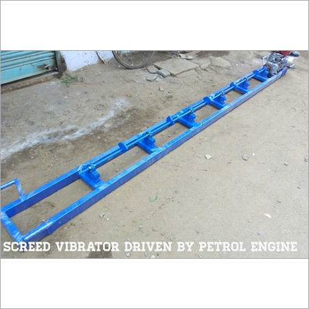 Screed Vibrator (Petrol Engine Drive)