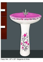 Capri Wash basin set
