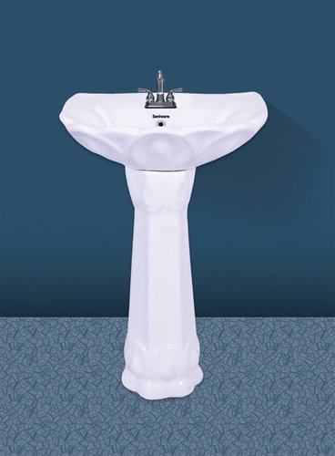 Bathroom Pedestal Wash Basin