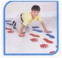 HANDS & FEET CRAWLING PATTERN SET