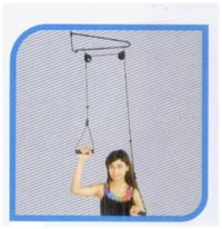 OVERDOOR DOUBLE PULLEY SET
