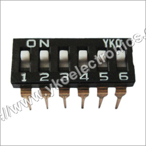 6 Way Dip Switch