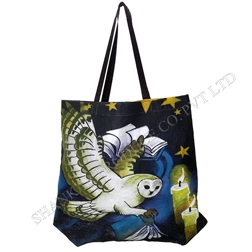 Cotton Digital Printed Tote Bag