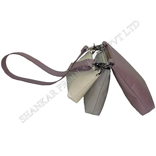 Leather Shoulder bag Set of 3