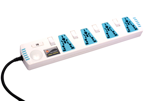 Power Strip 4way Individual Switch
