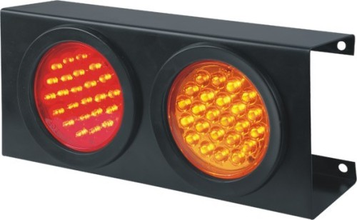LED Tail Lamp With Steel Frame
