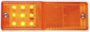 LED Side Marker Lamp with Reflex Reflector