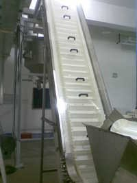Cleated Elevating Belt Conveyor