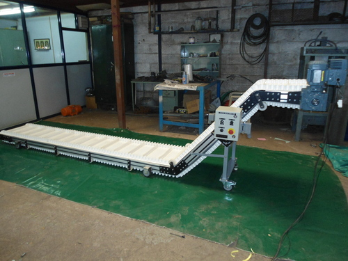 Cleated Elevating Conveyor
