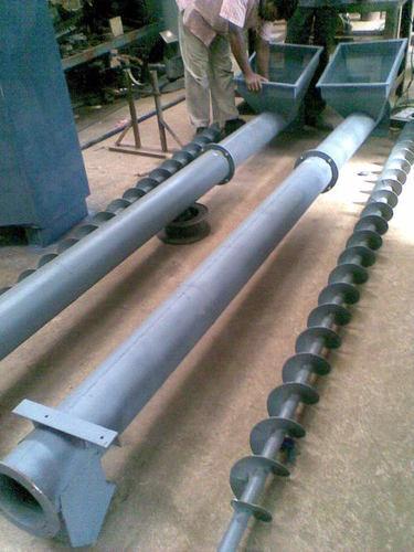 Steel Screw Conveyor System