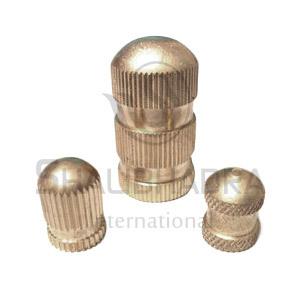 Brass Round Cap Inserts