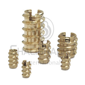 Self Tapping Inserts For Wood & Plastics