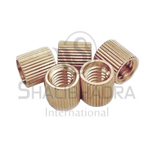 Brass Straight Knurling Inserts
