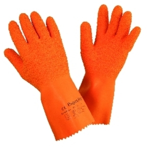 Sperian By Honeywell : 2094432 Findex  -  Natural Orange Latex Gloves