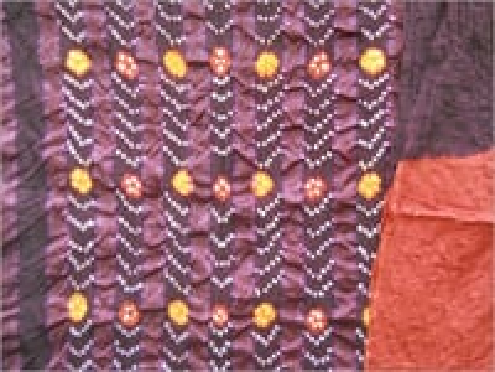 Cotton Bandhej Suit