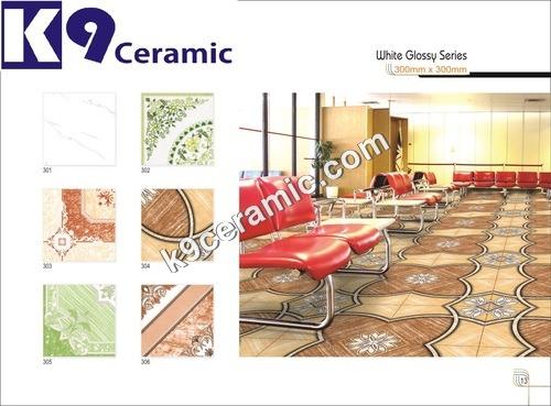 Plain Digital Floor Tiles
