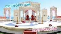 Stylish Wedding Outdoor Mandap