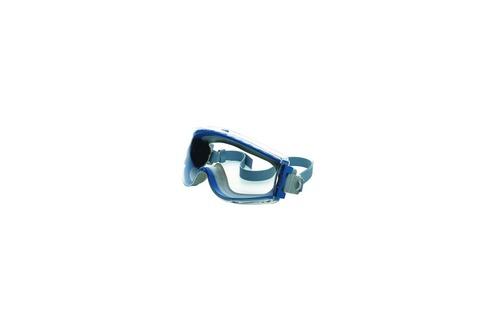 Honeywell : 1011072 Maxx Pro Blue/Gray, Clear FogBan lens, Textile Headband