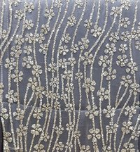 Glitter Embroidery Net Fabric