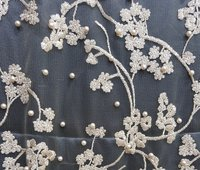 Embroidered Mesh Fabrics
