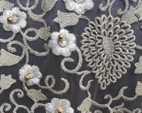 Embroidery ON NET Fabric