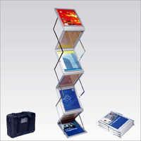 Zebra Catalogue Stand
