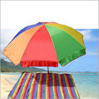 Multi Colored Beach Umbrella
