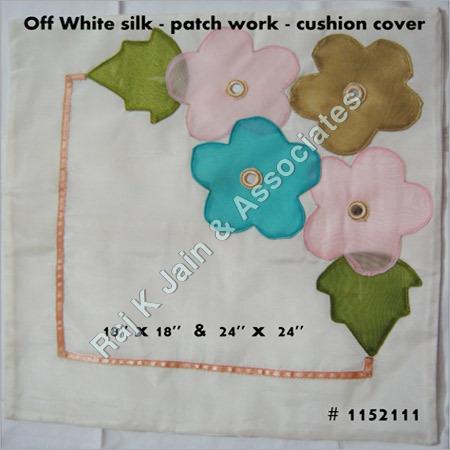 Handloom Silk Cushion Cover