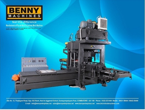 Concrete Paver Block Making Machine