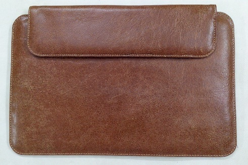 Leather Laptop-sleeve
