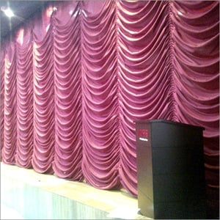 Vertical Motorized Curtain
