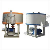 Semi Automatic Pan Mixer Machine