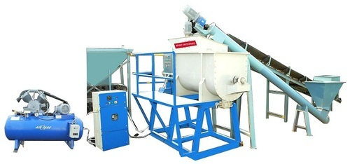 Automatic CLC Brick Making Machine