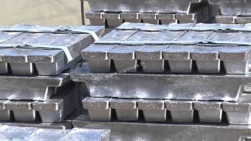 Lead - Antimony with Arsenic Alloy