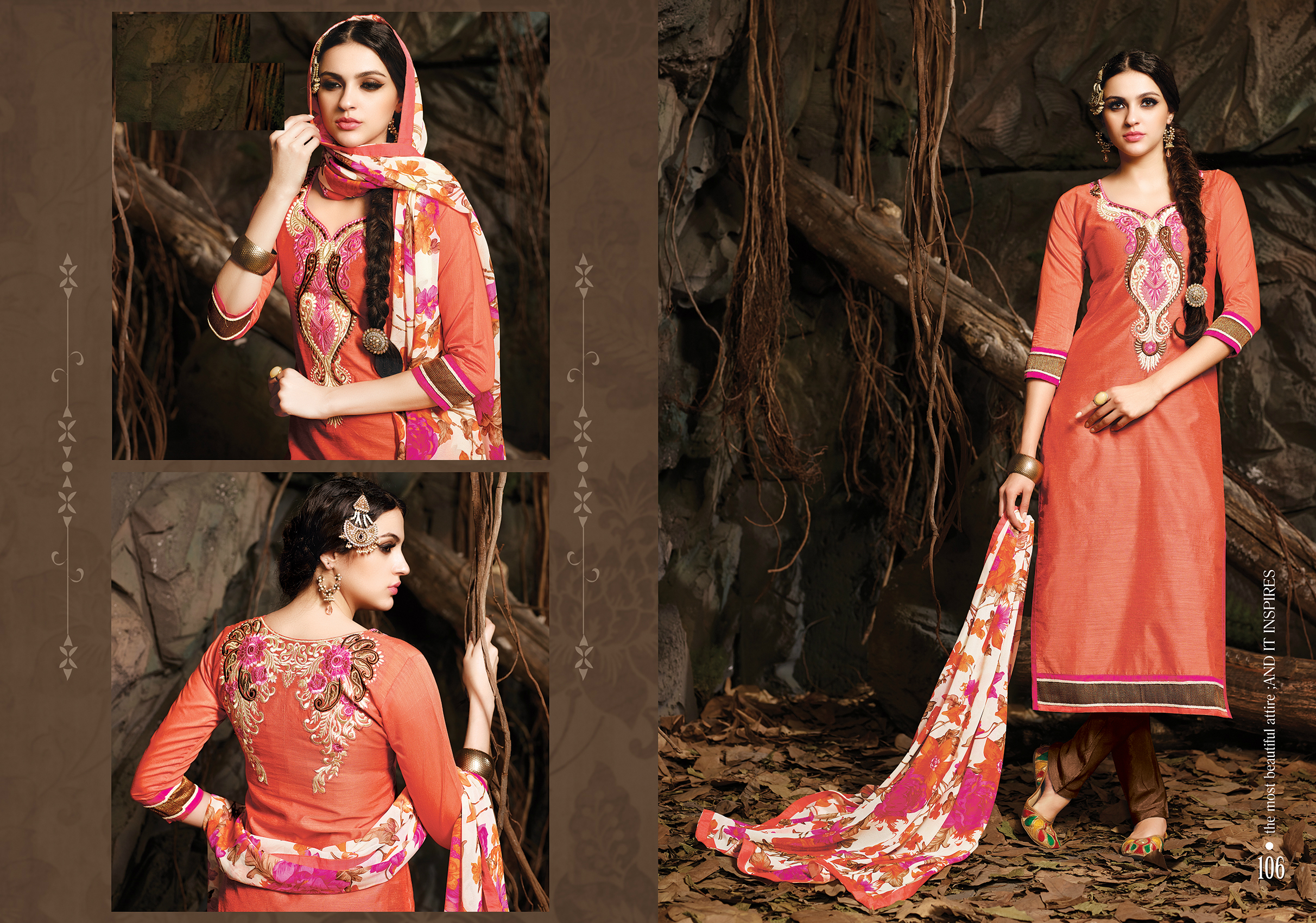 Fancy Chanderi Cotton Suit