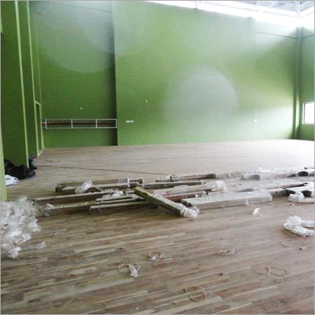 Multipurpose Sports Court Wooden Flooring