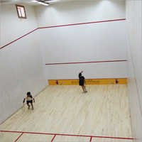 Squash Court Sports Wooden Flooring