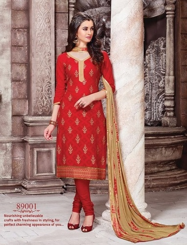 Red Stylish Casual Wear Suit